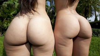BANGBROS – Rachel Starr And Her Phat Ass Cuban Friend, Liz, on Ass Parade!